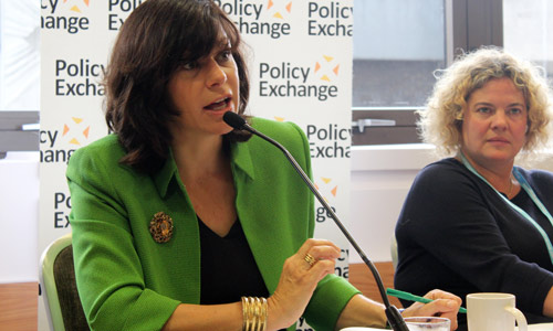 claire perry at policy exchange, Policy Exchange CC-BY