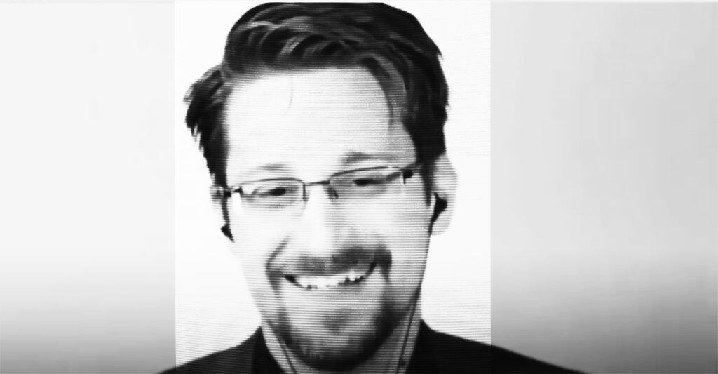 Edward Snowden at ORGCon 2019