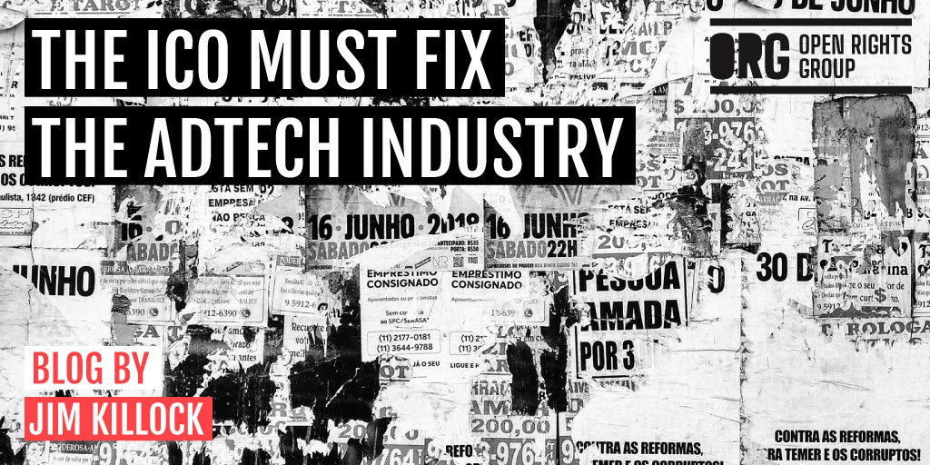 The ICO must fix the Adtech industry