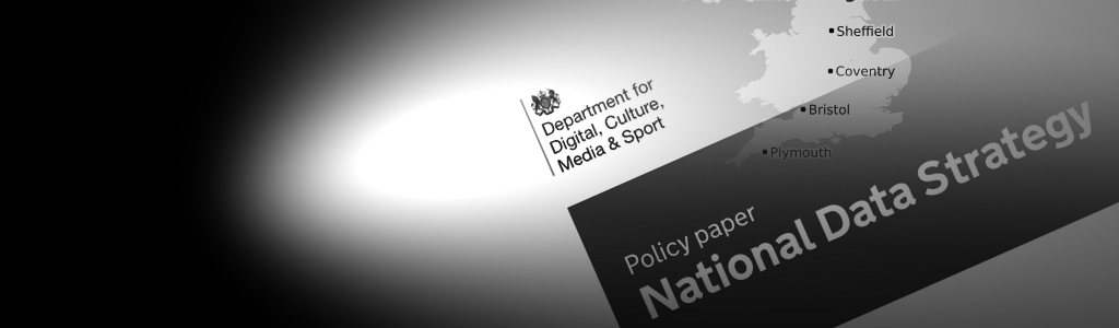 Map of UK & National Data Strategy document