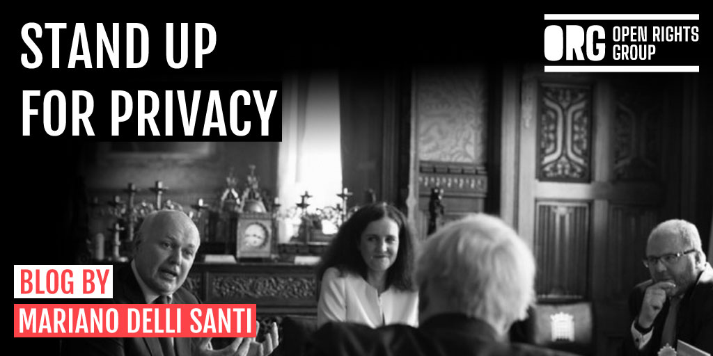 Stand Up for Privacy
