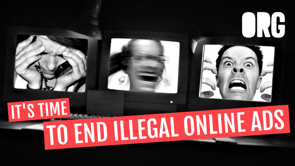 It's tIme to end illegal online ads
